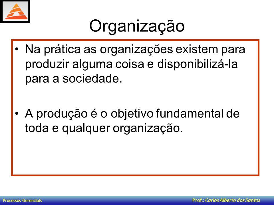 Organização As organizações são heterogêneas e diversificadas, com diferentes tamanhos, características, estruturas e objetivos.