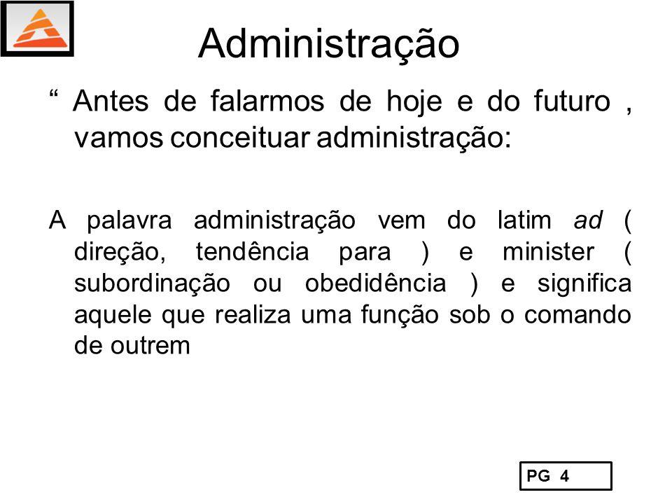O Processo de Administração Administração é o processo de planejar, organizar, liderar e controlar os esforços realizados pelos membros da organização e o uso de todos os outros recursos organizacionais para alcançar os objetivos estabelecidos Processos Gerenciais Prof.: Carlos Alberto dos Santos