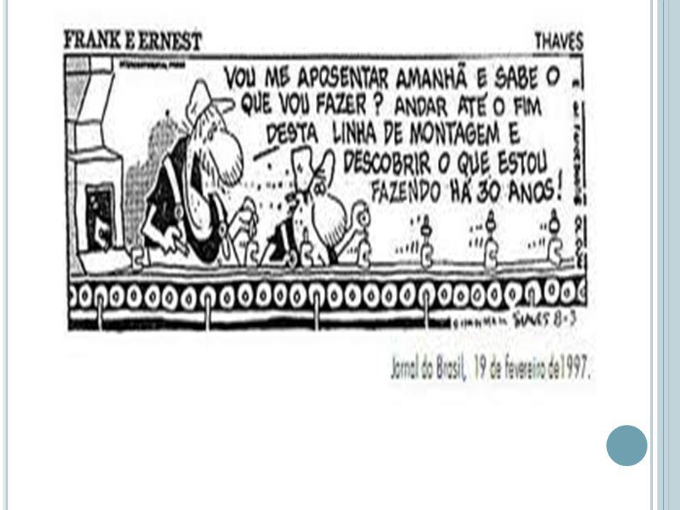 Burocratização.