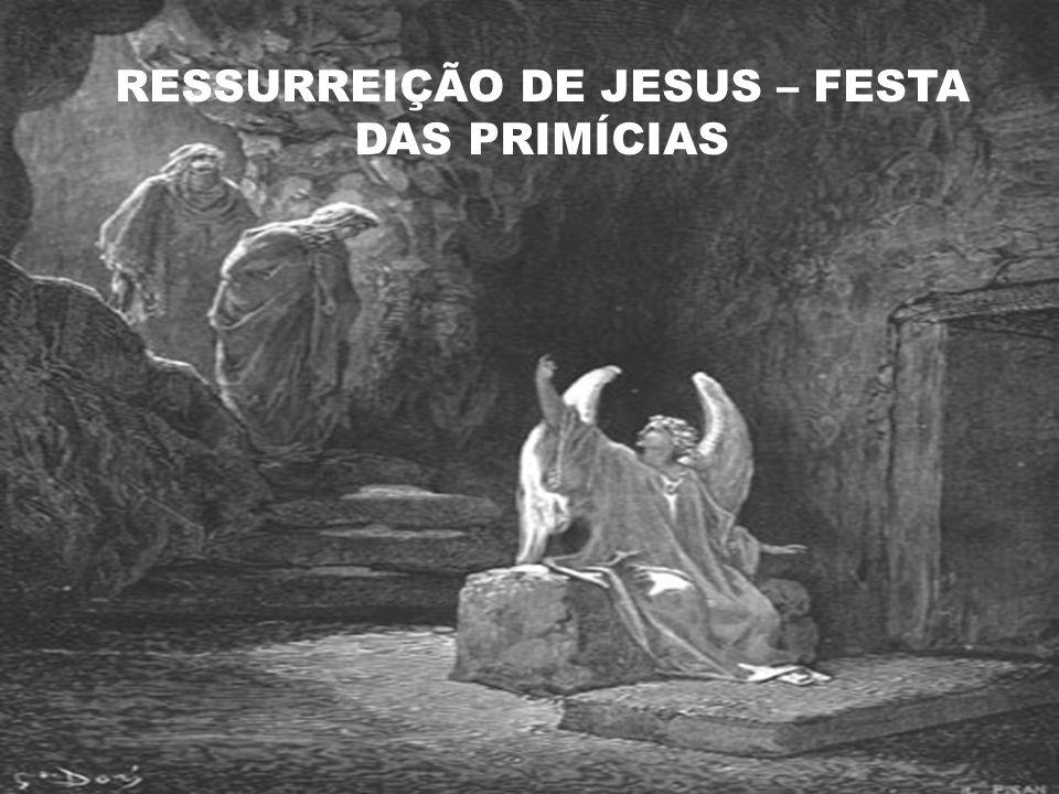 RESSURREIÇÃO DE JESUS – FESTA DAS PRIMÍCIAS
