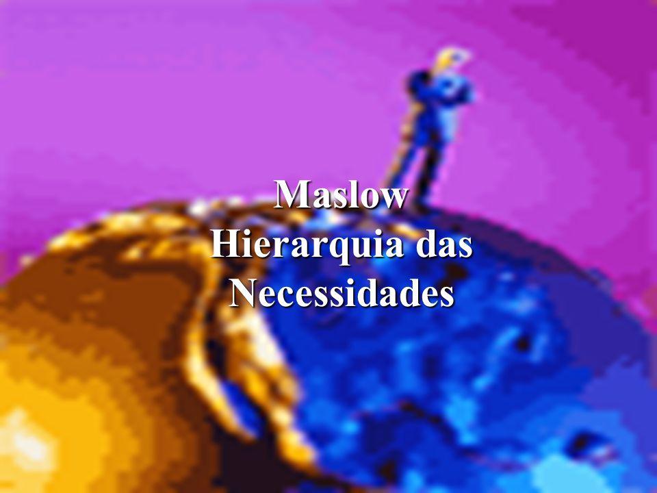 Maslow Hierarquia das Necessidades