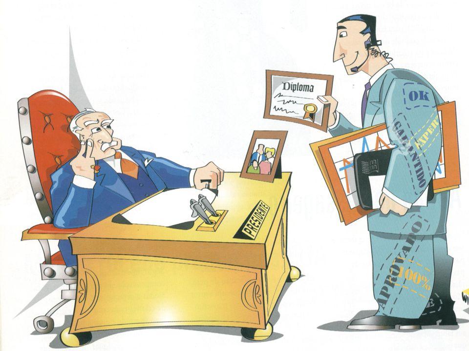 Um especialista muito competente pode tornar-se um administrador incompetente, desde que continue a raciocinar e a comportar-se como especialista, sem conseguir assumir o papel e as responsabilidades de administrador.