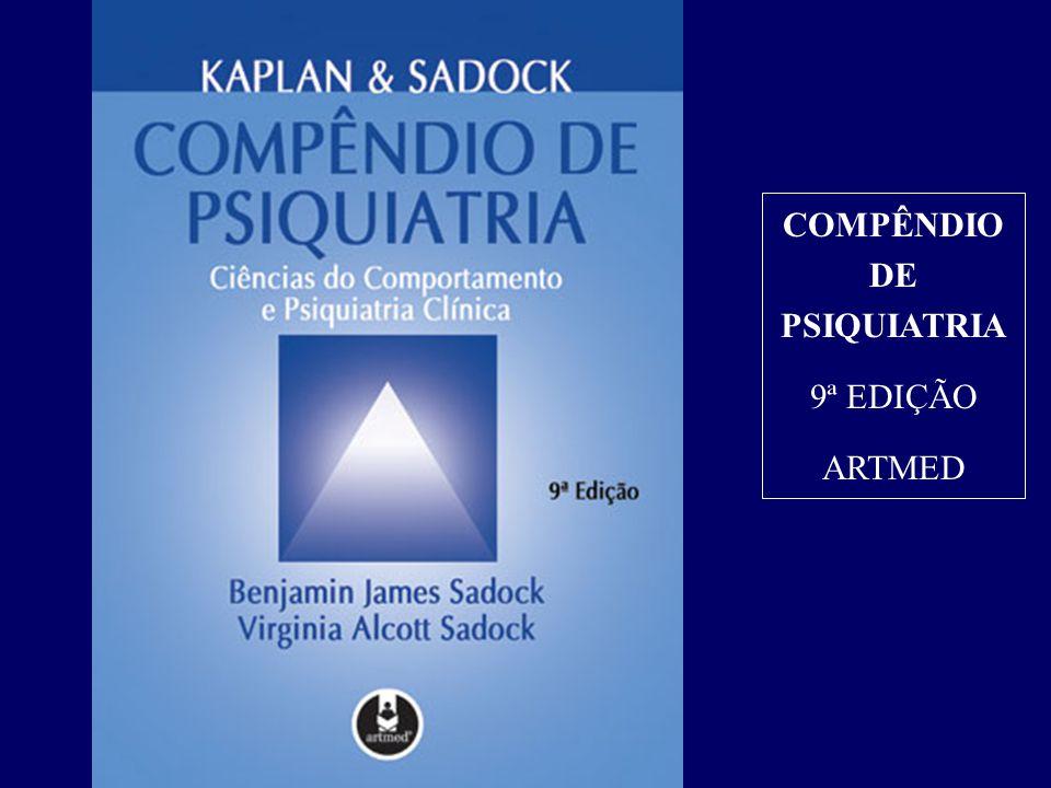 COMPÊNDIO DE PSIQUIATRIA 9ª EDIÇÃO ARTMED