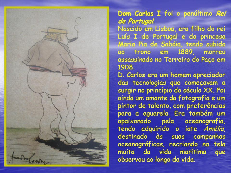 Dom Carlos I foi o penúltimo Rei de Portugal.