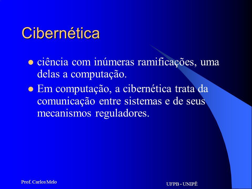 UFPB - UNIPÊ Prof. Carlos Melo Chip Microprocessador - pastilha de um metal semicondutor de eletricidade – normalmente o silício – sobre o qual são im