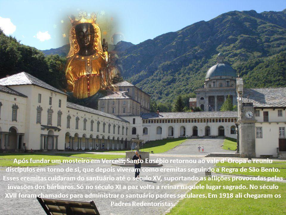 Ao nordeste de Biella, província do Piemonte, Itália, à altura de 200 metros, localiza-se o santuário onde se venera a imagem de uma Nossa Senhora de