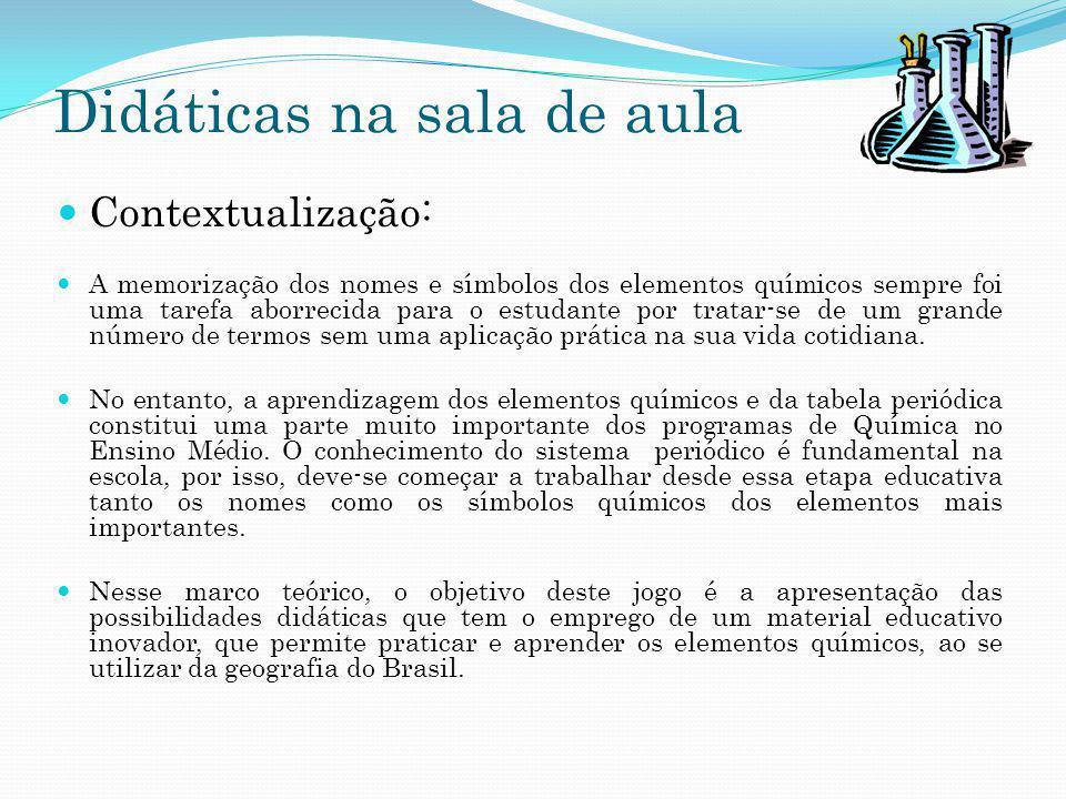Didáticas na sala de aula O material de ensino: O professor deve apresentar o mapa do Brasil junto com os países que fazem fronteiras e um texto, como demonstra a figura 2.
