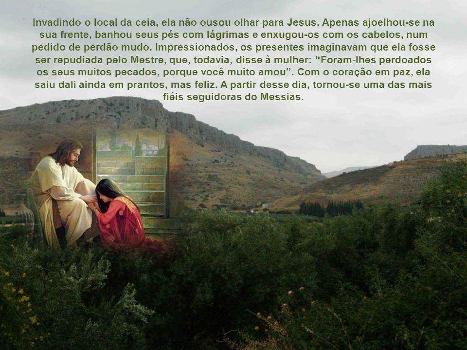 Madalena ouvira falar de Jesus, pois a fama dos milagres dele corria entre o povo.