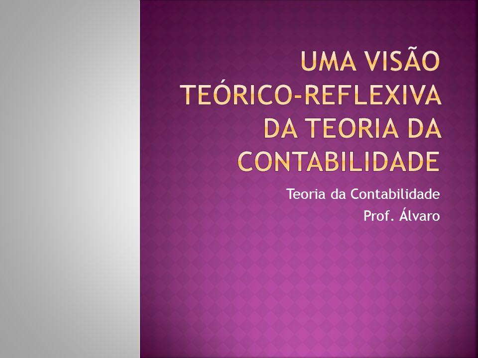 Teoria da Contabilidade Prof. Álvaro