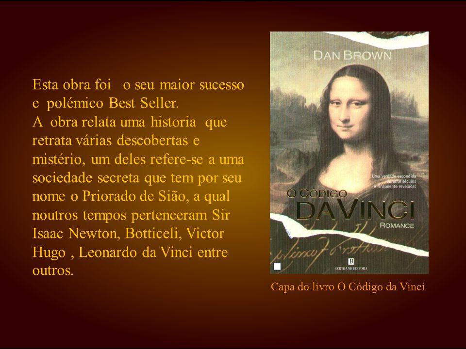 Dos trabalhos de Leonardo que se encontram no livro O Código da Vinci ,um deles é o Homem Vitruviano, uma pintura que recria as formas geométricas em réplica do corpo humano.