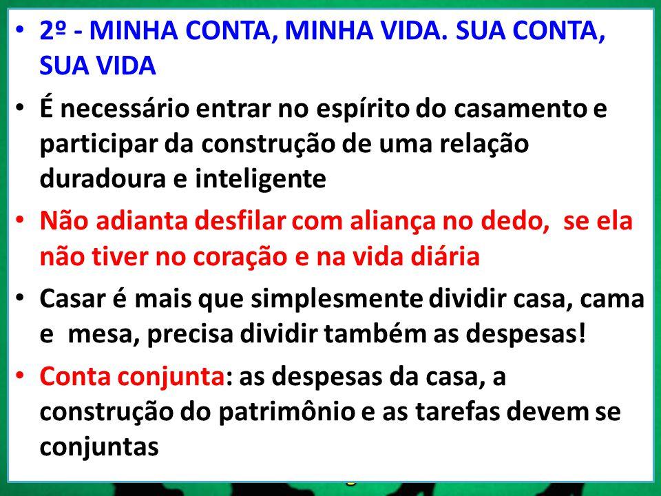 2º - MINHA CONTA, MINHA VIDA.