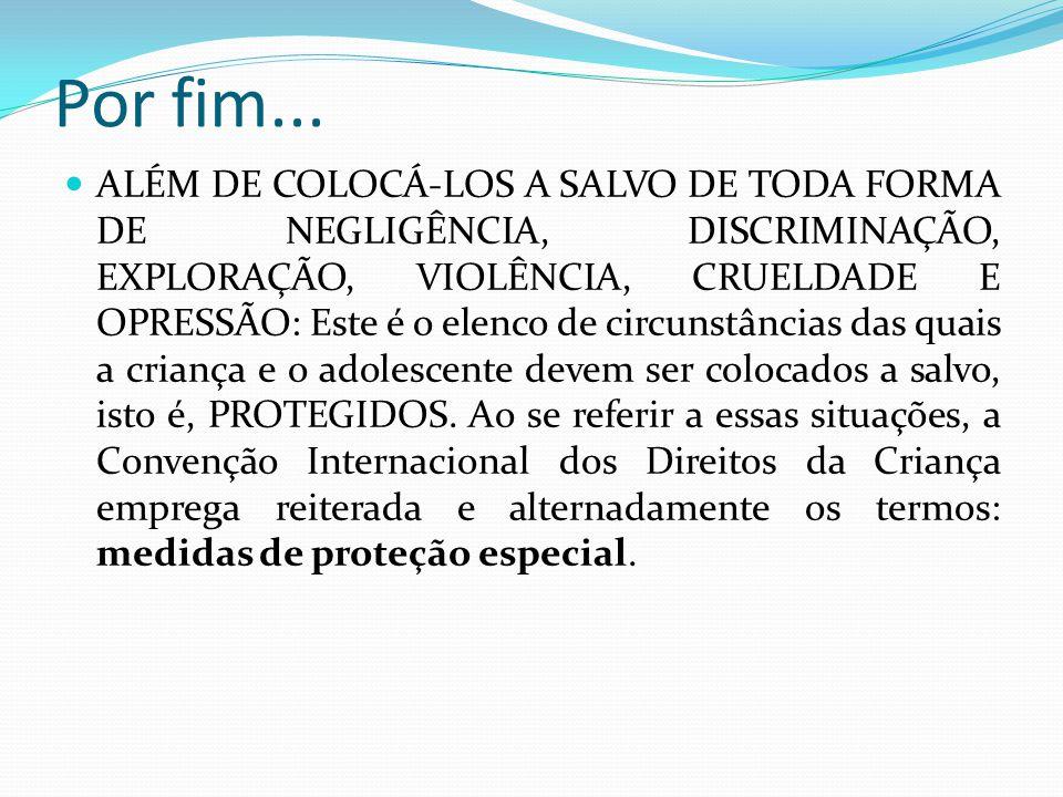 Tomar providências, em nome da Constituição e do Estatuto, para que cessem a ameaça ou violação de direitos da criança e do adolescente.