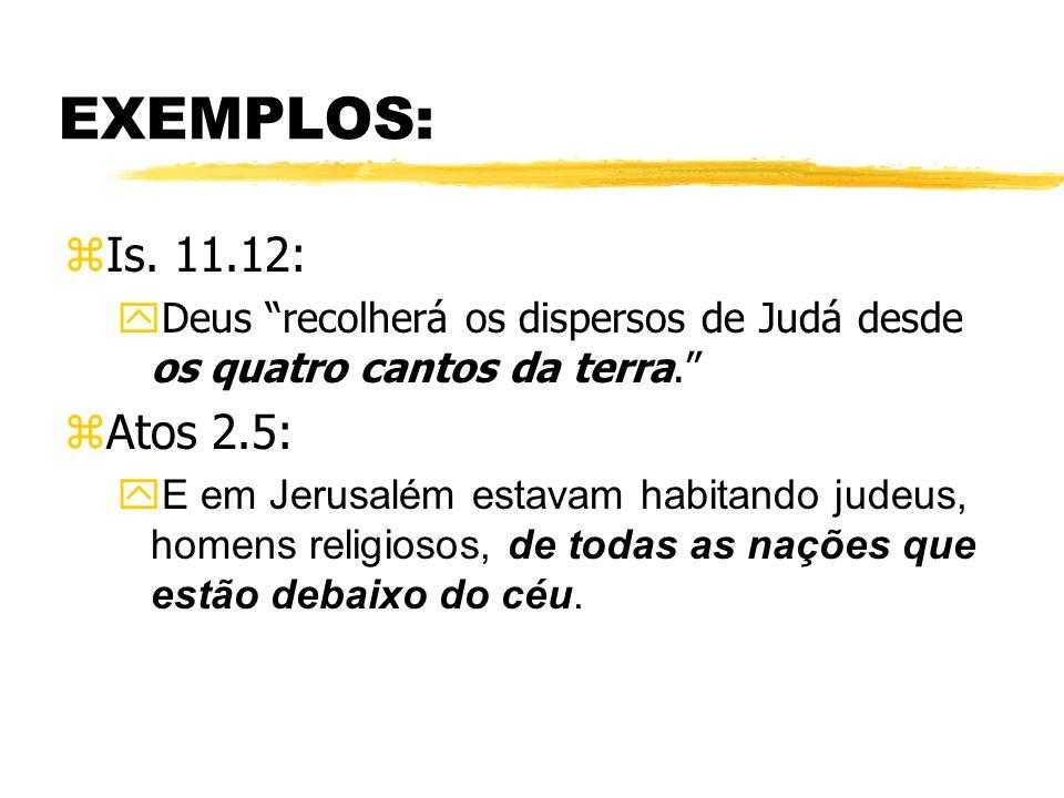 EXEMPLOS: zIs.