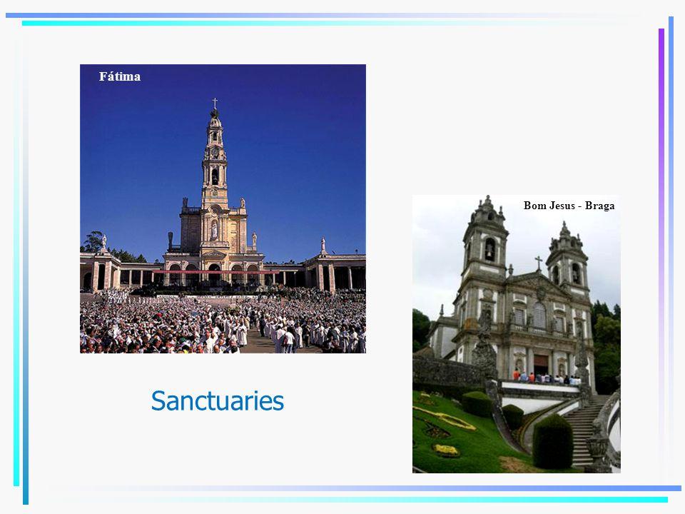Sanctuaries Bom Jesus - Braga Fátima