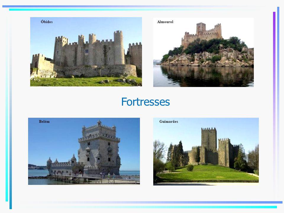 Fortresses Óbidos Almourol BelémGuimarães