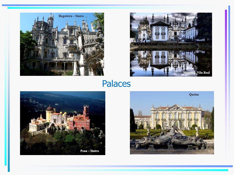 Palaces Regaleira – Sintra Mateus – Vila Real Pena – Sintra Queluz