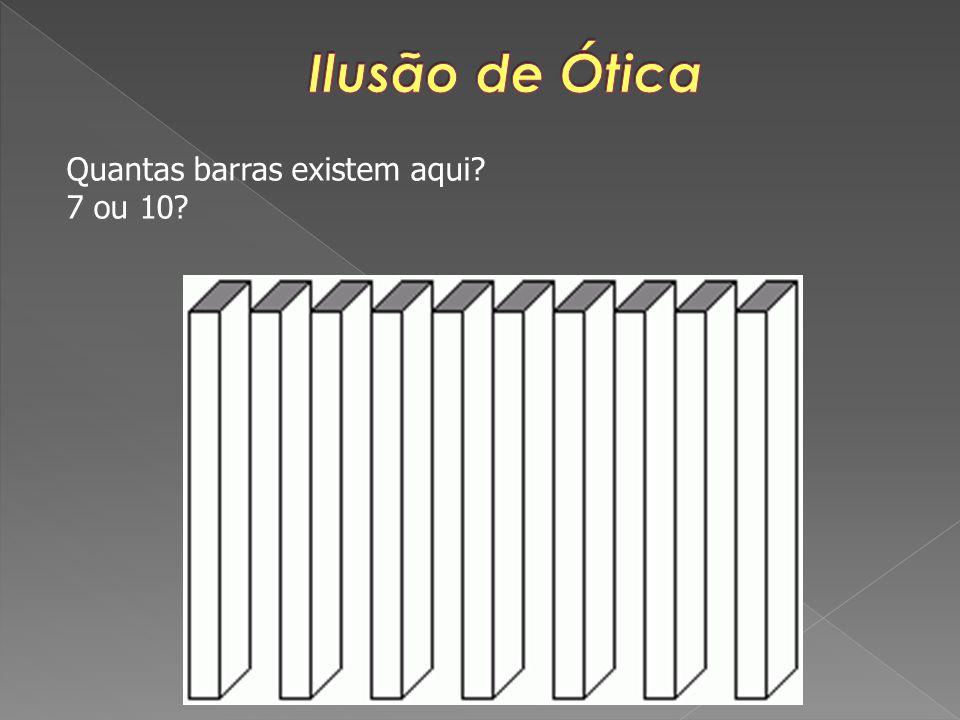 Quantas barras existem aqui? 7 ou 10?