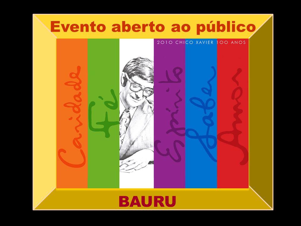 Evento aberto ao público BAURU
