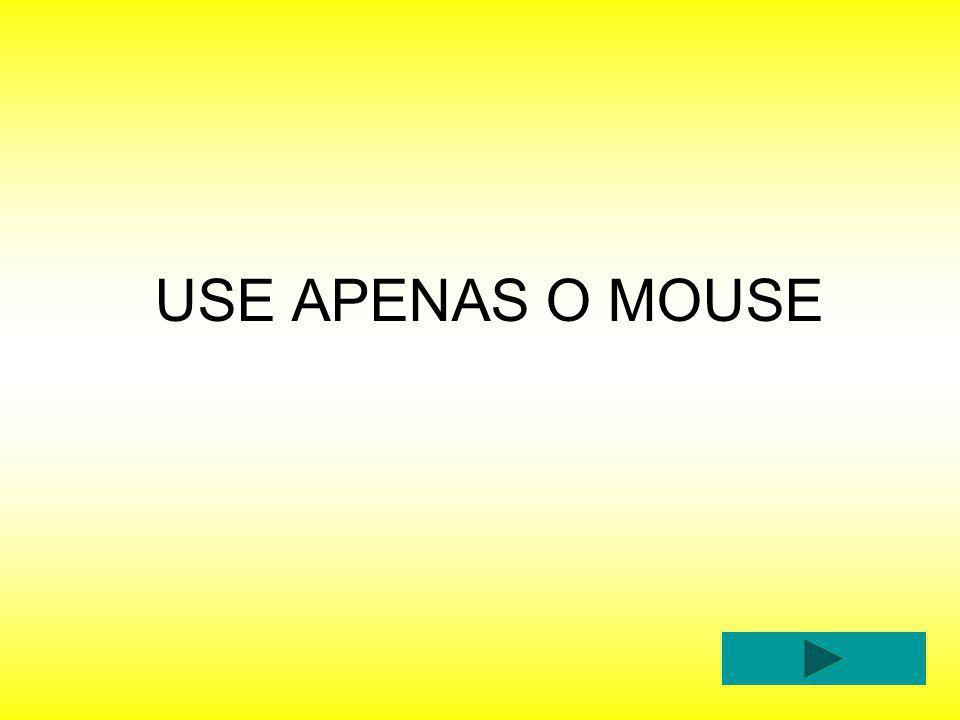 USE APENAS O MOUSE