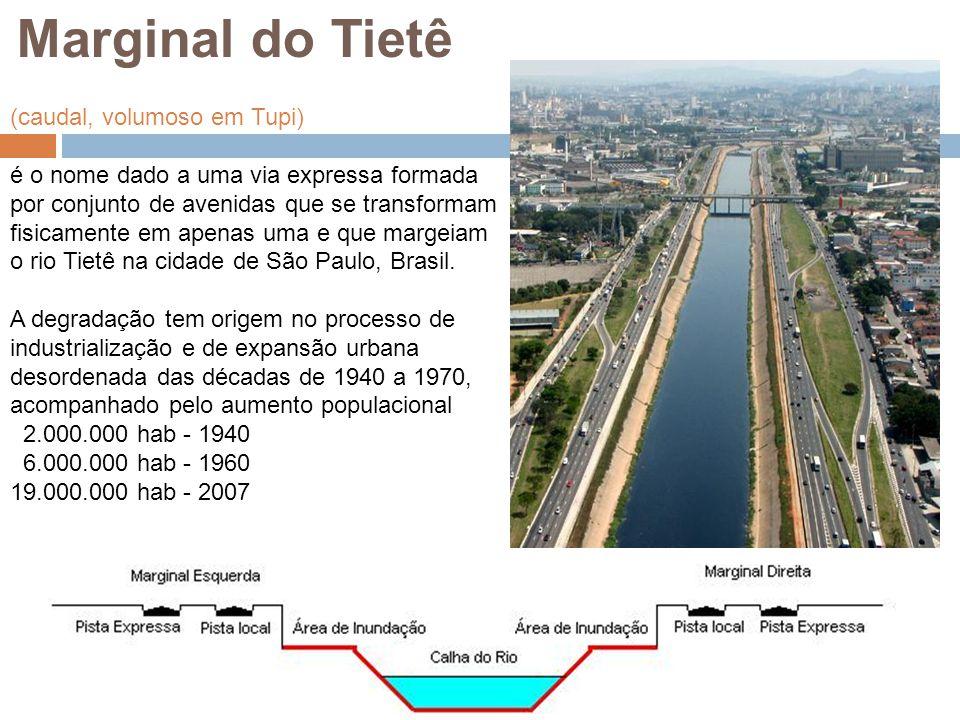 (caudal, volumoso em Tupi) é o nome dado a uma via expressa formada por conjunto de avenidas que se transformam fisicamente em apenas uma e que margei