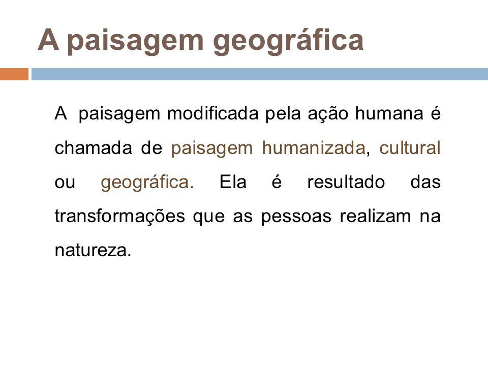 Meio Geográfico  O ambiente onde a sociedade humana desenvolve as suas relações.