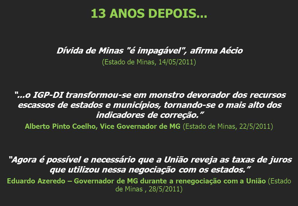 13 ANOS DEPOIS...