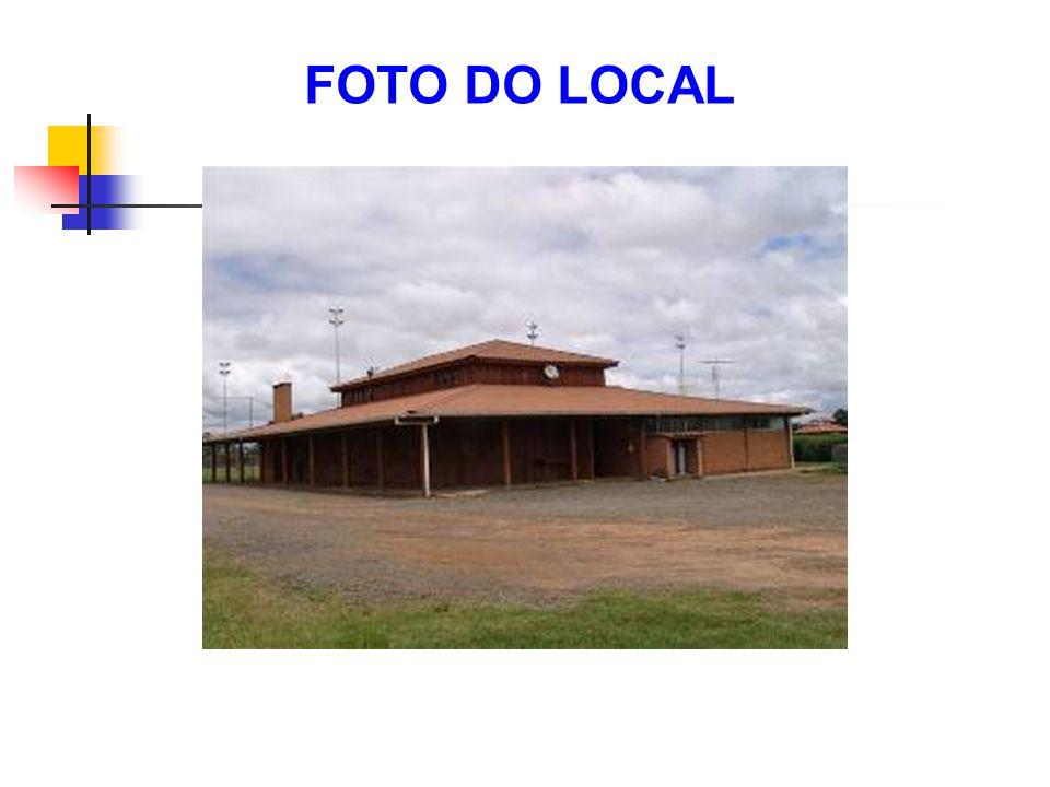 FOTO DO LOCAL