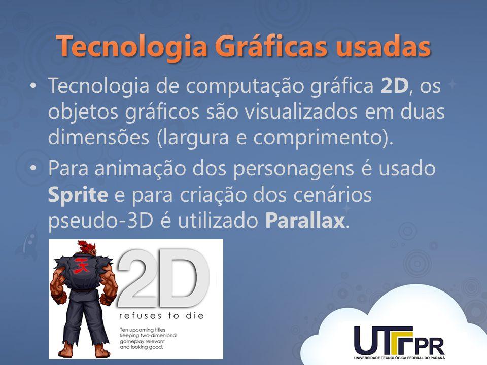 Tecnologia de computação gráfica 2D, os objetos gráficos são visualizados em duas dimensões (largura e comprimento). Para animação dos personagens é u