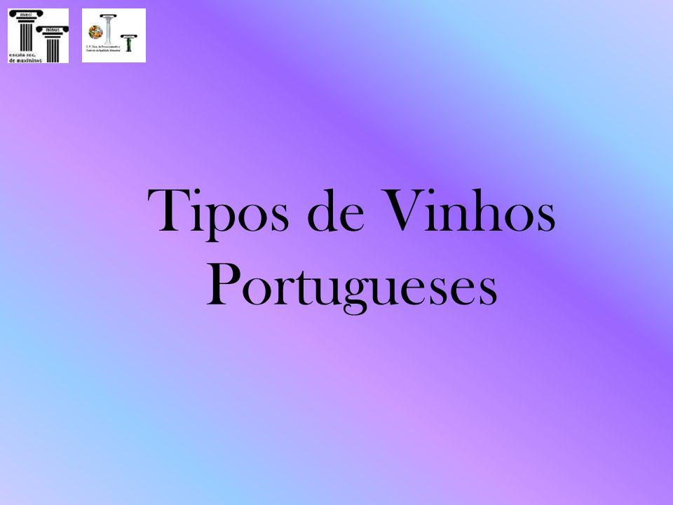 Tipos de Vinhos Portugueses
