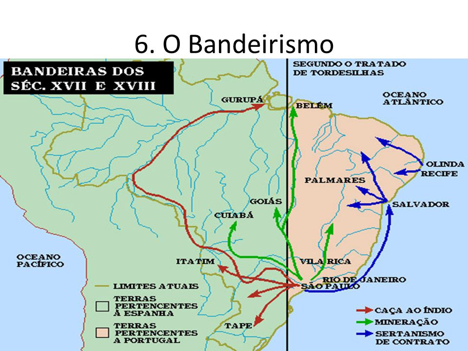 6. O Bandeirismo