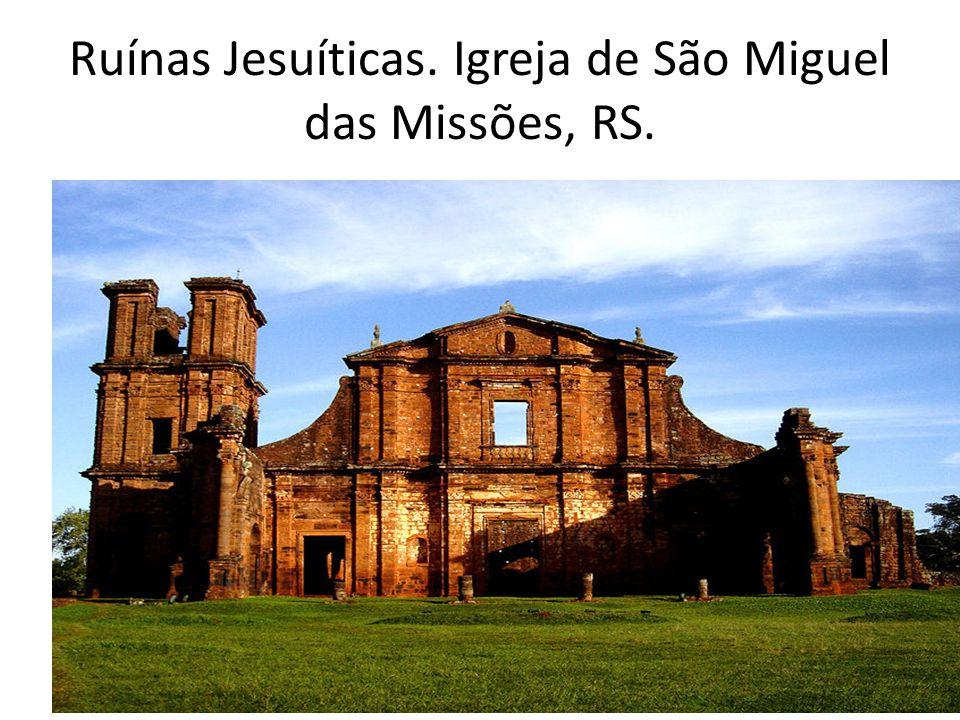 Ruínas Jesuíticas. Igreja de São Miguel das Missões, RS.