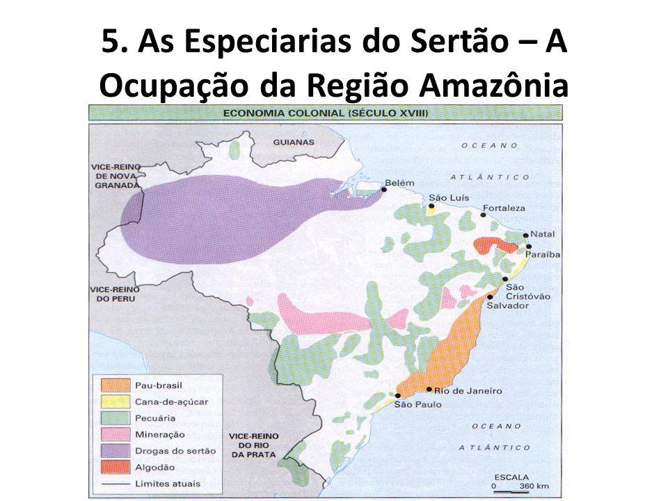 5. As Especiarias do Sertão – A Ocupação da Região Amazônia