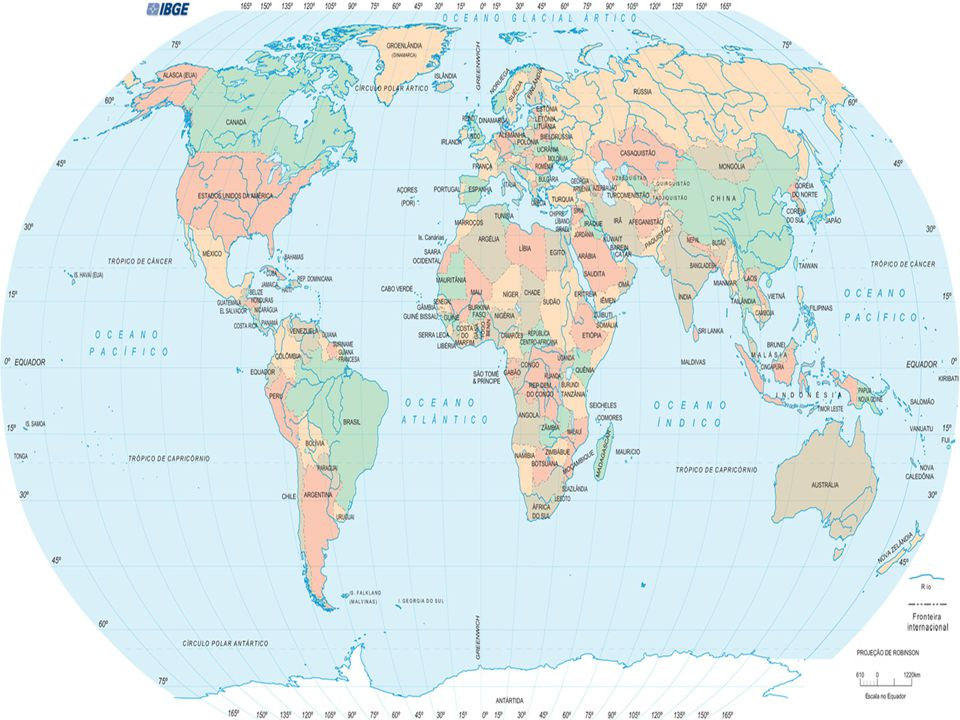 - Notar que as fronteiras foram se definindo ao passar dos séculos