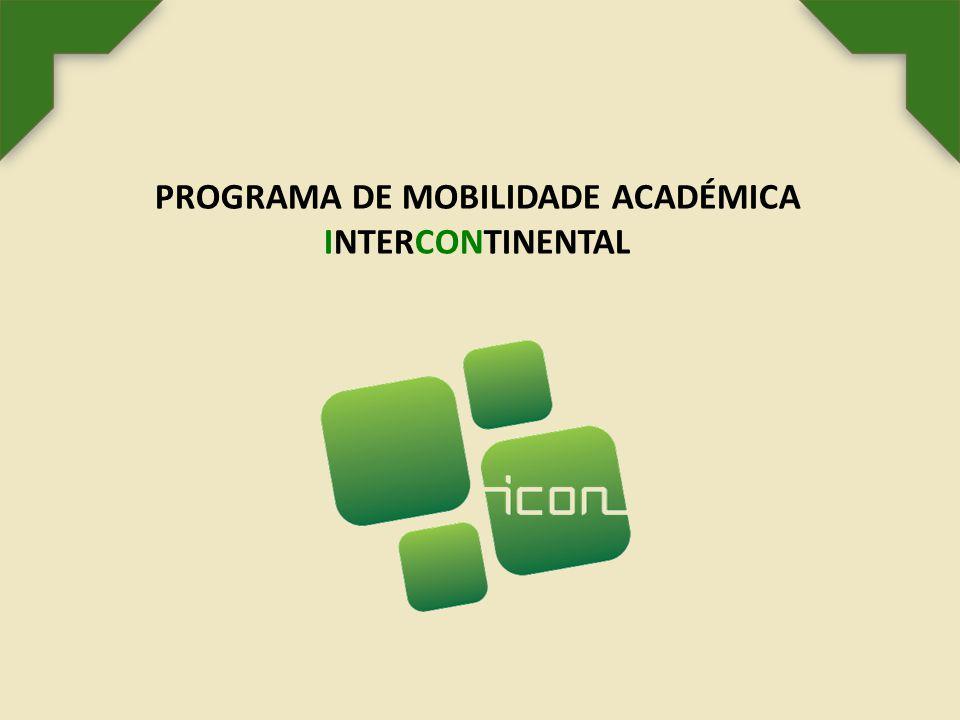 PROGRAMA DE MOBILIDADE ACADÉMICA INTERCONTINENTAL