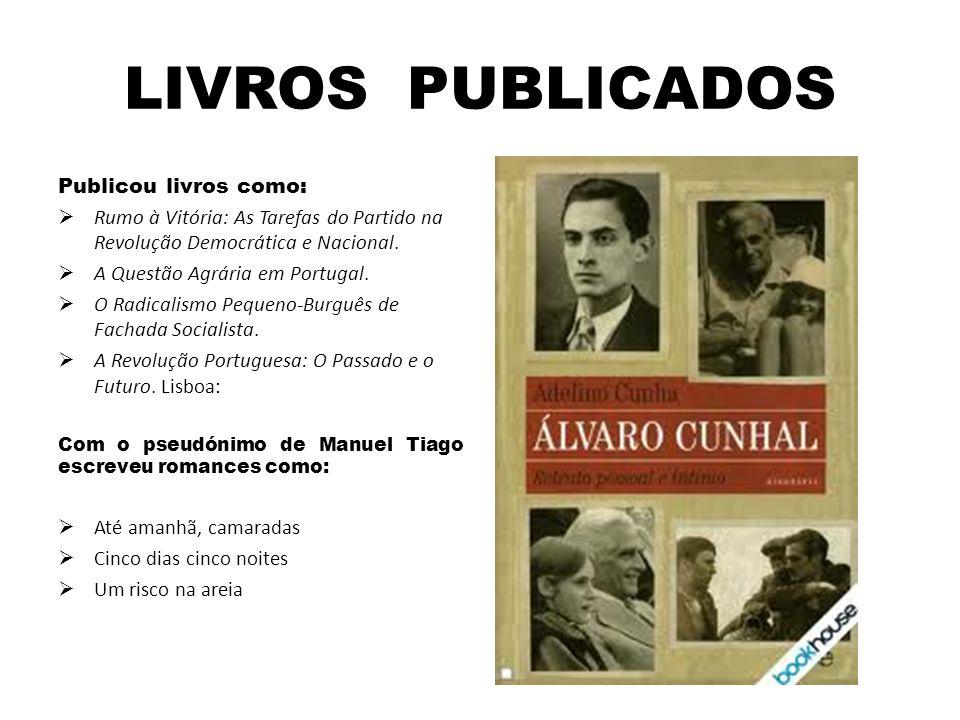 LIVROS PUBLICADOS Publicou livros como:  Rumo à Vitória: As Tarefas do Partido na Revolução Democrática e Nacional.