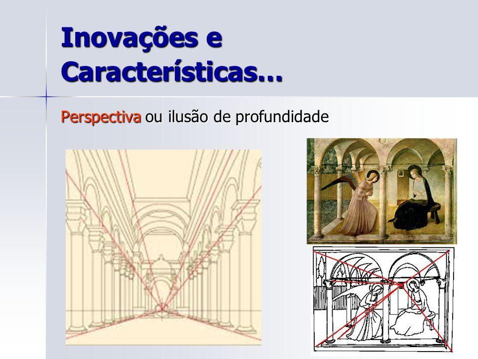 Inovações e Características… Perspectiva ou ilusão de profundidade