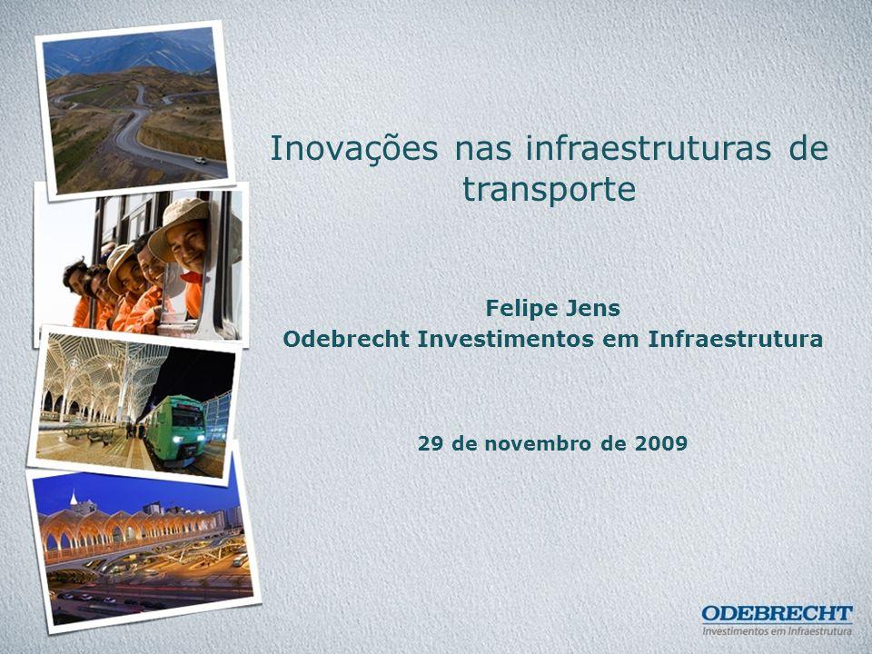 22 Exemplo de inovação na estruturação financeira de concessão rodoviária no Peru IIRSA – Integración de la Infraestructura Regional Sudamericana Exios de Integração e Desenvolvimento Eixo Perú – Brasil – Bolívia B R A S I L BOLIVI A P E R Ú Eixo Multimodal de Amazonas IIRSA NORTE Extensão de 955 Km IIRSA SUL Extensão de 2.586 Km