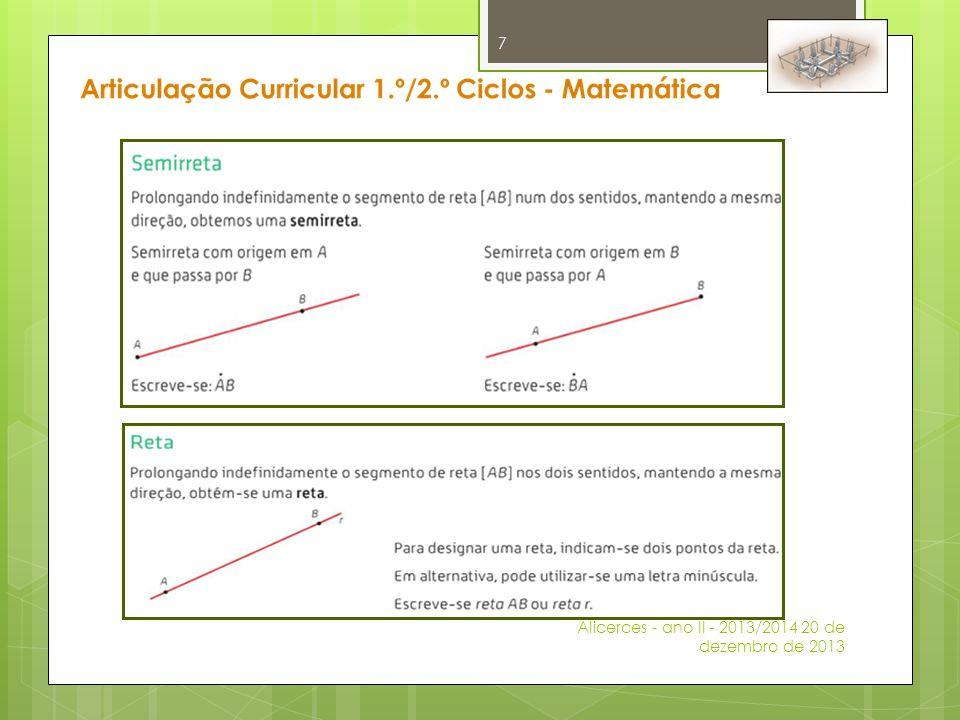 Articulação Curricular 1.º/2.º Ciclos - Matemática Domínio analisado – Números e Operações Tópico – Multiplicação e Divisão  É MUITO IMPORTANTE que os alunos terminem o 1.º Ciclo sabendo de memória as tabuadas.