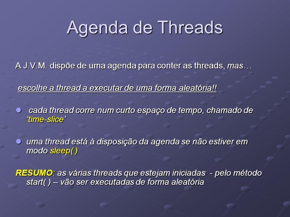 Agenda de Threads A J.V.M.
