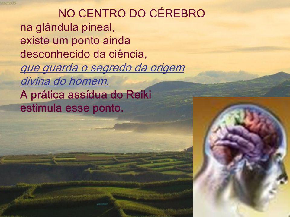 NO CENTRO DO CÉREBRO na glândula pineal, existe um ponto ainda desconhecido da ciência, que guarda o segredo da origem divina do homem. A prática assí