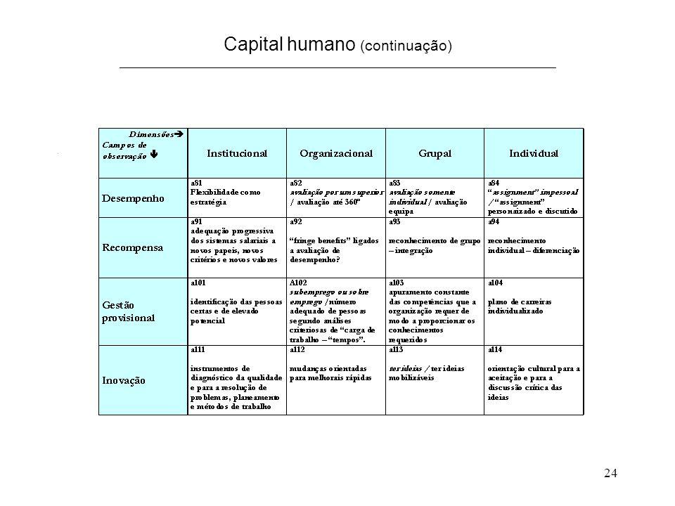 24 Capital humano (continuação) ______________________________________________________________________.