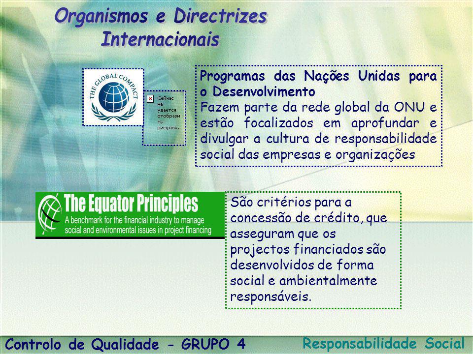 Programas das Nações Unidas para o Desenvolvimento Fazem parte da rede global da ONU e estão focalizados em aprofundar e divulgar a cultura de respons