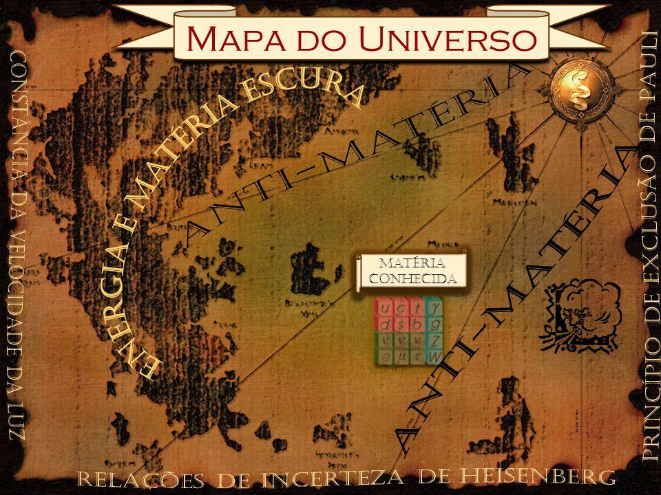 Mapa do Universo Matéria conhecida