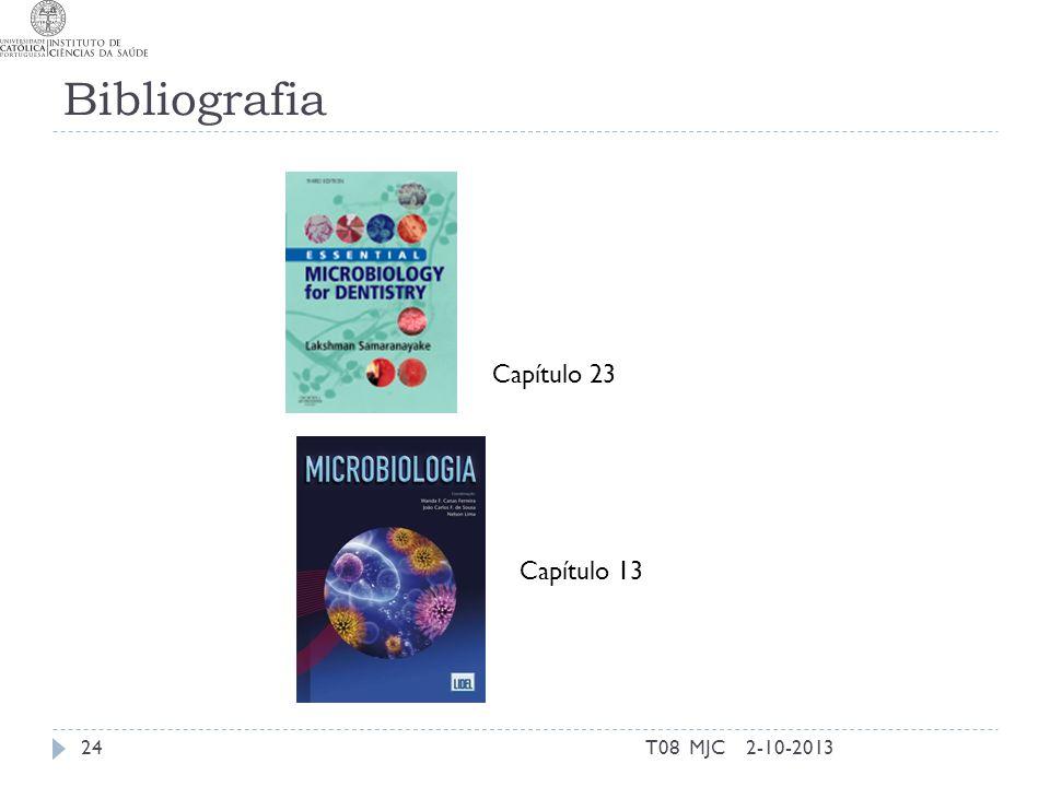 Bibliografia T08 MJC242-10-2013 Capítulo 23 Capítulo 13