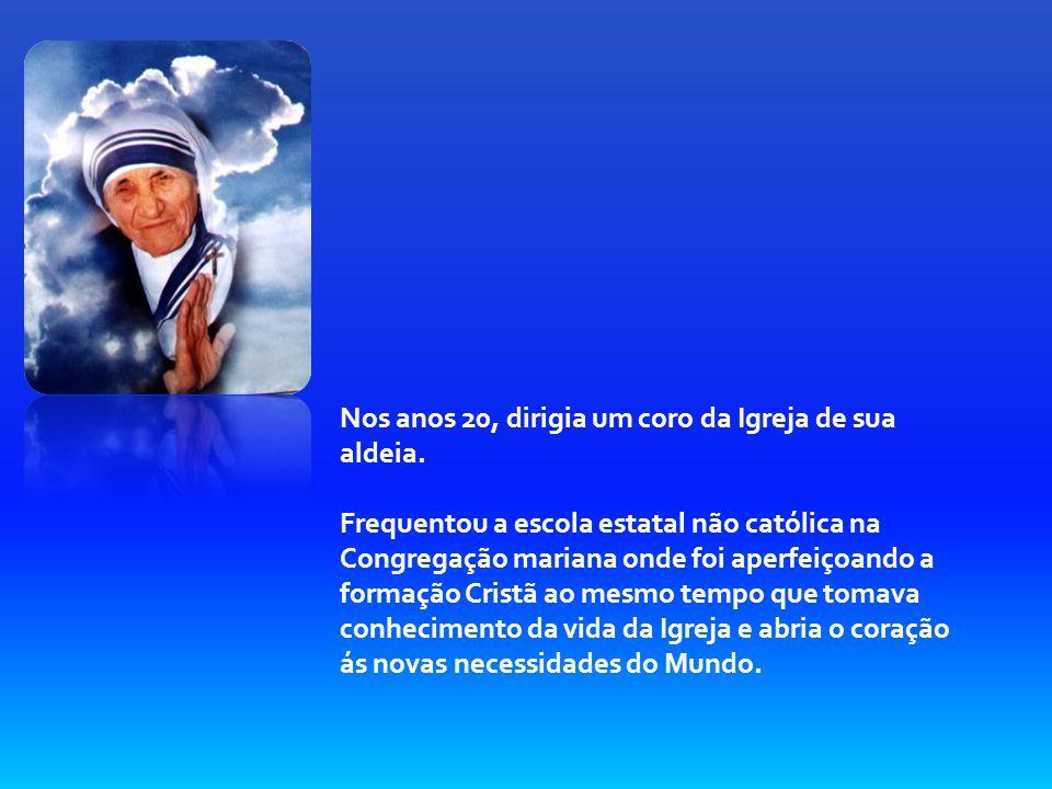 Biografia Madre Teresa de Calcutá 27 de Agosto de 1910 Agnes Conxha Bojaxhiu nasce em skoplje na Albânia de sua família pouco se sabe e sua infância.