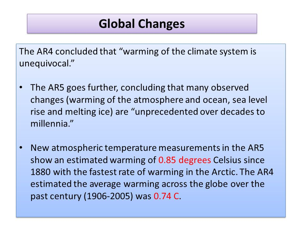 The AR5 report has significantly increased projected sea level rise over the next century, due to new research that improves understanding of ice sheet movement and melting.
