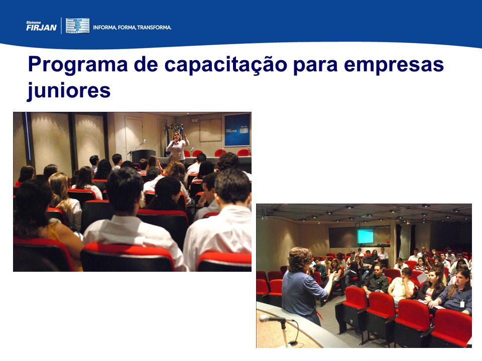 Programa de capacitação para empresas juniores
