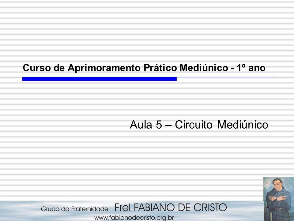 1 Curso de Aprimoramento Prático Mediúnico - 1º ano Aula 5 – Circuito Mediúnico