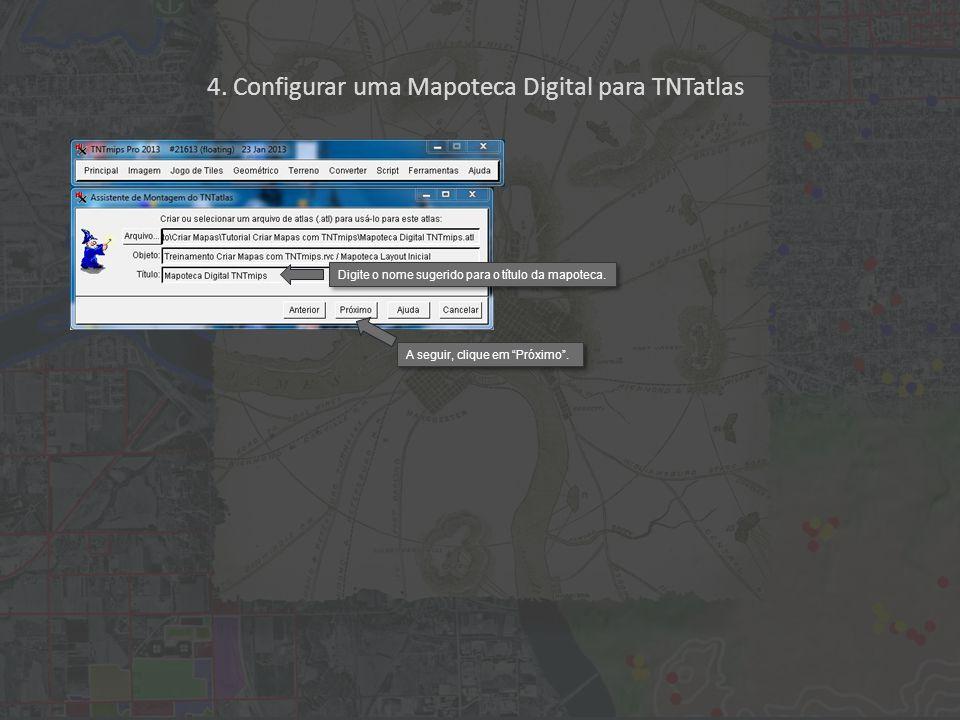 Arquivos em falta lista os arquivos associados à mapoteca que não foram encontrados.