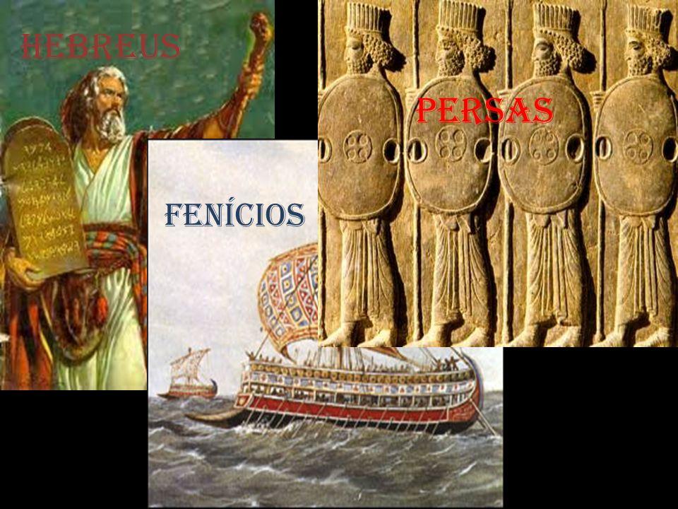 HEBREUS FENÍCiOS PERSAS